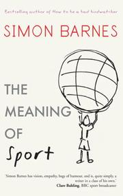 Cover of: The Meaning of Sport