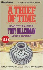 Cover of: Thief of Time, A  Low Price | Tony Hillerman