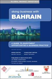 Cover of: Doing business with Bahrain |