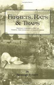 Cover of: Ferrets, Rats and Traps | NICHOLAS EVERITT