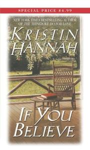 Cover of: If you believe