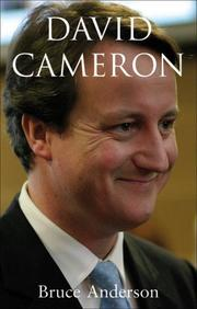 Cover of: David Cameron