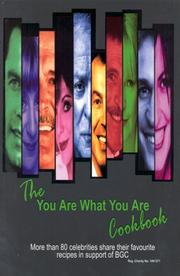 Cover of: The You Are What You Are Cookbook