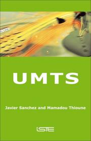 Cover of: UMTS |