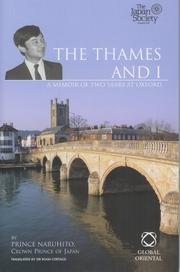 Cover of: The Thames And I | Prince Naruhito