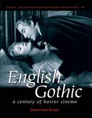 Cover of: English gothic