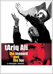 Cover of: The Leopard and the Fox: a Pakistani tragedy