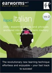 Cover of: Earworms Rapid Italian, Volume 2 | Marlon Lodge