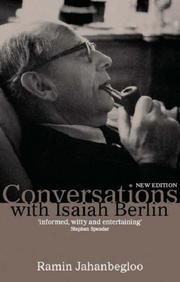 Conversations with Isaiah Berlin by Ramin Jahanbegloo