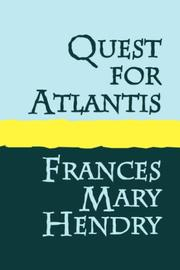 Cover of: QUEST FOR ATLANTIS | Frances, Mary Hendry