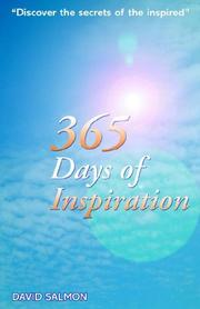 Cover of: 365 Days of Inspiration