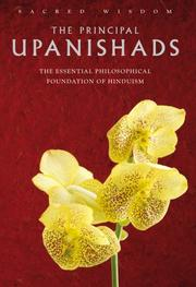 The Principal Upanishads by