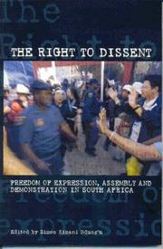 Cover of: The Right to Dissent | Simon Kimani Ndung