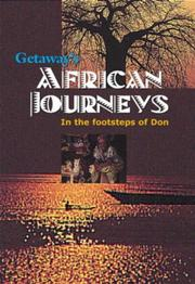 Cover of: African journeys
