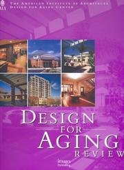 Cover of: Design for Aging Review | American Institute of Architects Design for Aging