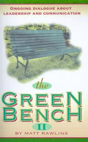 Cover of: The Green Bench II