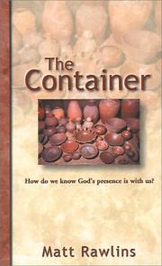 Cover of: The Container