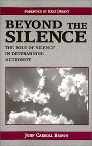 Cover of: Beyond the silence