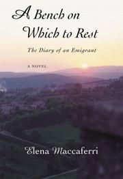 Cover of: A bench on which to rest