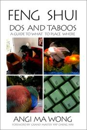 Cover of: Feng Shui Dos and Taboos | Angi Ma Wong
