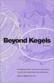 Cover of: Beyond Kegels | Janet A. Hulme