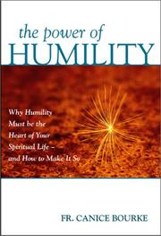 Cover of: The power of humility | Canice Father, O.F.M. Cap.