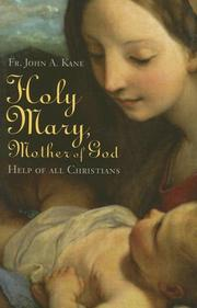 Cover of: Holy Mary, Mother Of God