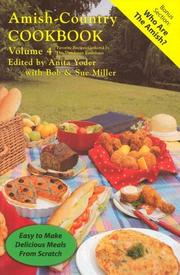 Cover of: Amish-Country Cookbook, 2nd Edition (Volume 4) | Anita Yoder