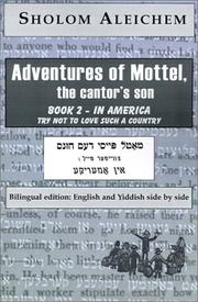 Cover of: In America (Adventures of Mottel, the Cantor's Son)