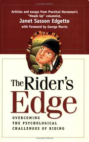 Cover of: The Rider's Edge