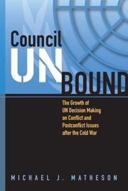 Cover of: Council unbound | M. Matheson