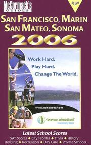 Cover of: McCormack's Guides 2006 San Francisco & San Mateo (Mccormack's Guides. San Francisco & San Mateo)