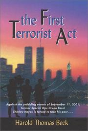 Cover of: The First Terrorist Act