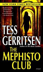 Cover of: The Mephisto Club (Jane Rizzoli, Book 6)