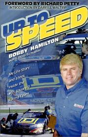 Cover of: Up to Speed | Bobby Hamilton