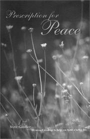 Cover of: Prescription for Peace | Steve Goodier