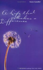 Cover of: A Life That Makes a Difference