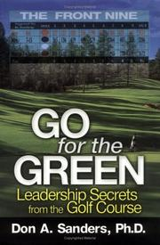 Cover of: Go for the Green