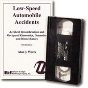 Cover of: Low-Speed Automobile Accidents