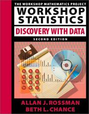Cover of: Workshop statistics | Allan J. Rossman