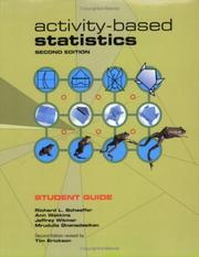 Cover of: Activity-Based Statistics