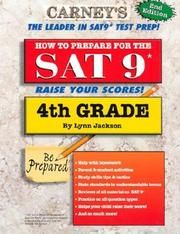 Cover of: How to Prepare for the SAT 9 - 4th Grade (Workbook) (How to Prepare for the SAT 9)