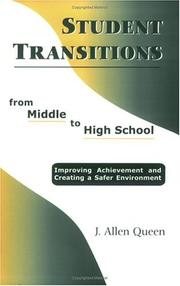 Cover of: Student Transitions from Middle to High School