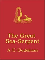 The Great Sea-Serpent by A. C. Oudemans
