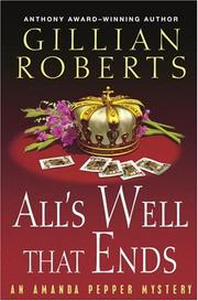 Cover of: All's Well That Ends