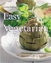 Cover of: Easy vegetarian cooking | Cornelia Schinharl