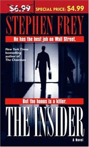 Cover of: The Insider | Stephen Frey