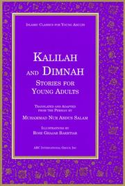 Cover of: Kalilah and Dimnah Stories for Young Adults (Islamic Classics for Young Adults)