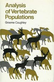 Cover of: Analysis of vertebrate populations | Graeme Caughley