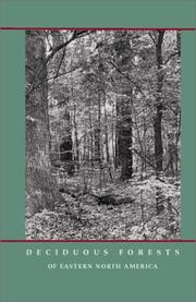 Cover of: Deciduous forests of eastern North America